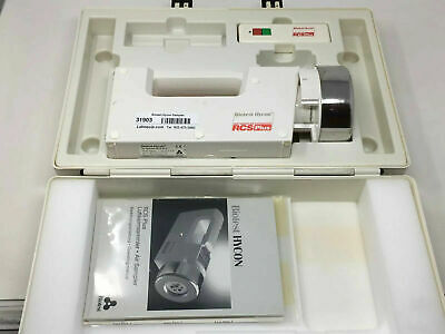 Biotest Hycon Rcs Plus Air Sampler 940310 7.2v 6w With Case Booklet And Remote