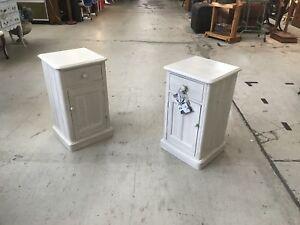 Pair of Vintage Coastal Bedside tables