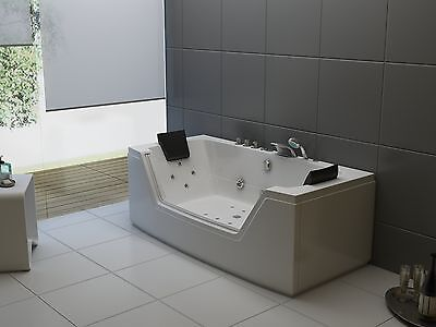 Whirlpool Eckbadewanne Badewanne Wanne Pool Spa Whirlwanne Acryl für 2 Personen