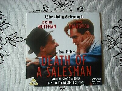RARE- TELEGRAPH PROMO DVD - DEATH OF A SALESMAN - DUSTIN HOFFMAN DRAMA