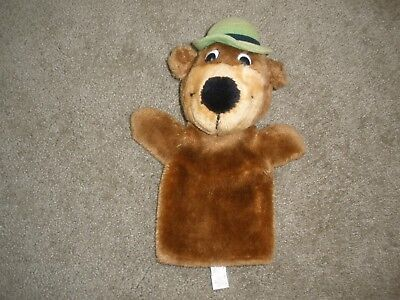 1980 Vintage Yogi Bear Hand  Puppet Plush Soft Toy Stuffed Mighty Star