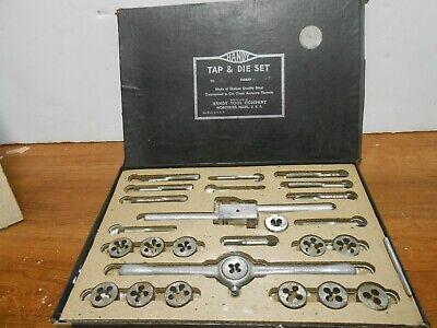 Vintage Handy Tool Co. 4 Tap Die Set 25pc