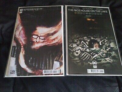 Nice House on the Lake #1 (DC Black Label) Cover A & B Set NM Tynion 1st print