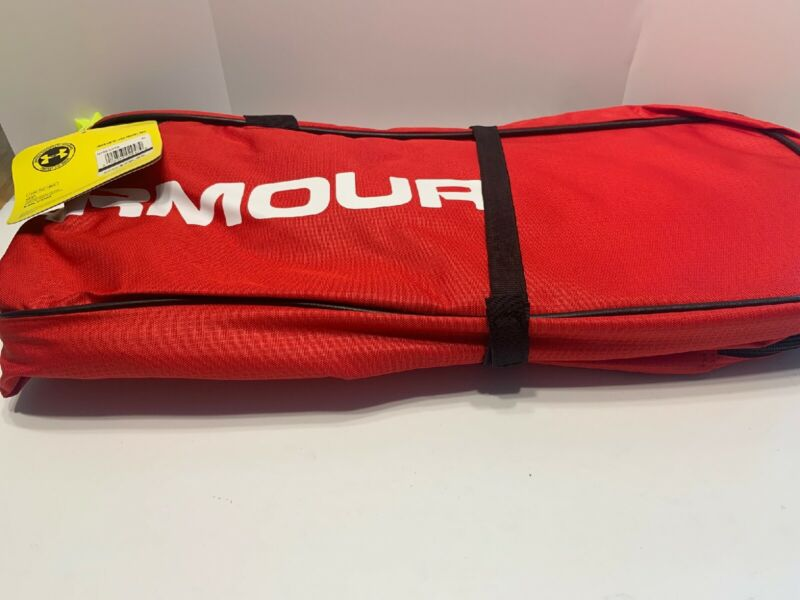 "Under Armour Storm Lacrosse LAX Travel Bag 44"" x 7"" x 12"" - Red"