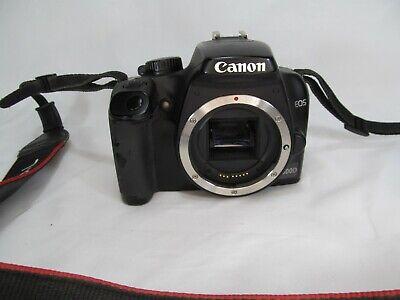 CANON EOS 1000D 10.1 MP DIGITAL SLR CAMERA IN BLACK