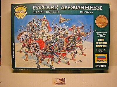 Soldatini Toy Soldiers ZVEZDA Cavalieri Russi Medievali Ref. 8001 scala 1:72