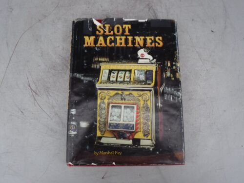 Slot Machines by Marshall Fey 1983 1st Edition Book Signed