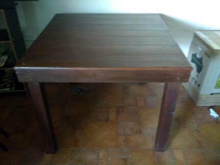 4 Person Wooden Dining Table