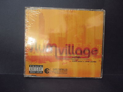 SLUM VILLAGE feat KANYE WEST and JOHN LEGEND Selfish 72435-48901-23 CD MAXI