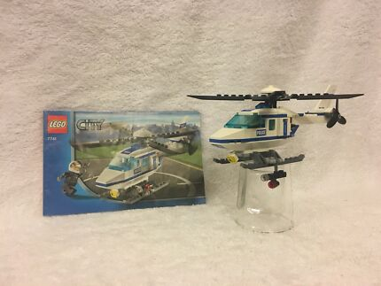 Lego City Police Helicopter 7741 Toys Indoor Gumtree