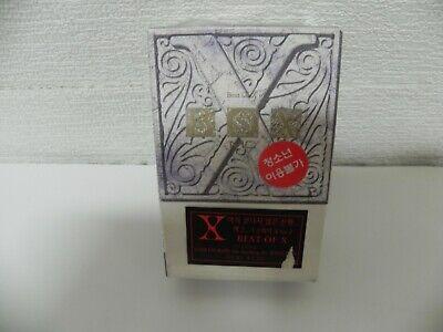 X Japan - Best Of X Rare KOREA Double Cassette Tape / SEALED NEW