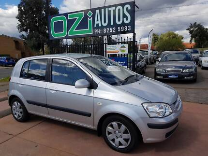 2004 Hyundai Getz Hatchback Elizabeth South Playford Area Preview