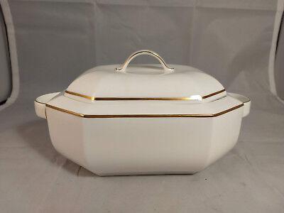 Pearl Covered Vegetable Bowl - Villeroy & Boch Black Pearl Octagonal Covered Vegetable Bowl