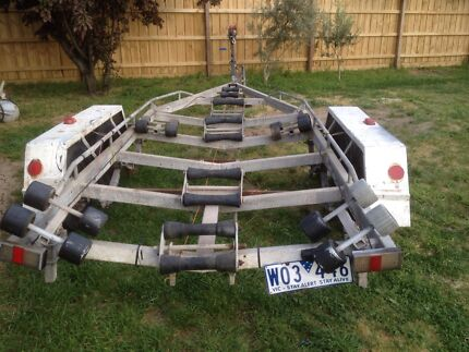 Dunbier tendem boat trailer  Broadmeadows Hume Area Preview