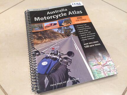 Australia Motorcycle Atlas & Top 200 Rides - Hema Maps