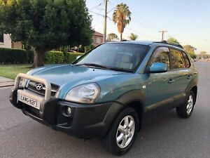 2005 HYUNDAI TUCSON ELITE 4WD LOW KM LONG REGO