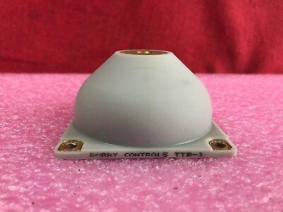 4 Barry Controls Ttb-3 Silicone Shock Isolator Vibration Mounts
