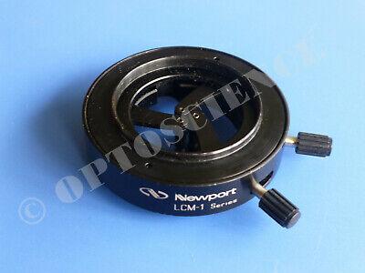 Newport Lcm-1 Self-centering Lens Mount Optics Holder