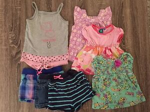 Lot of Size 2T girls clothing  (29 pieces for summer & winter)