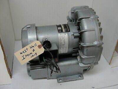 Gast R4310-2 Regenair Vacuum Pump 1 Hp 60 H 3 Ph 208-230 V460 V 3450 Rpm.