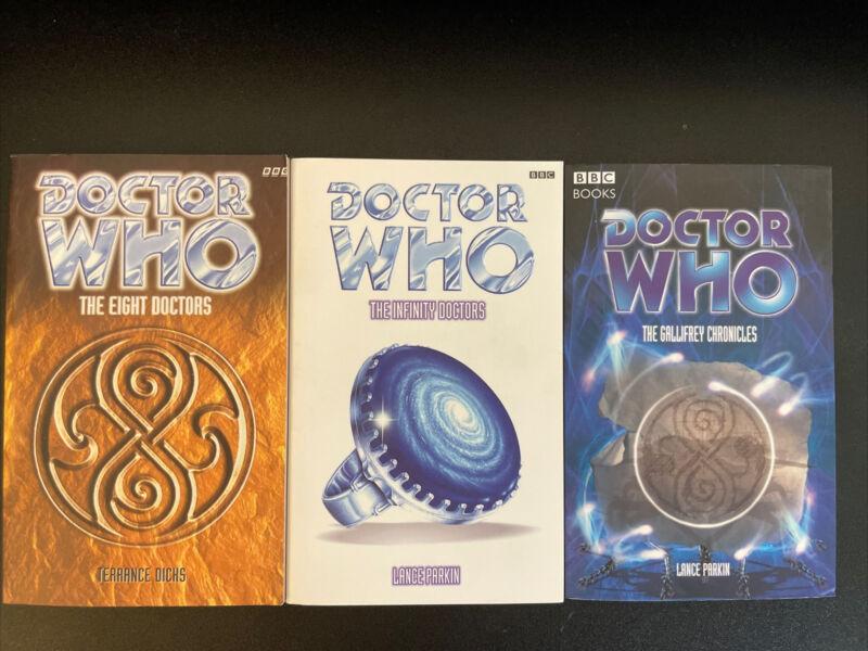 Doctor Who: Eight Doctors, Infinity Doctors, Gallifrey Chronicles: Dicks, Parkin