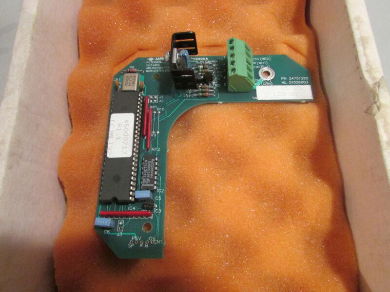 Milltronics MD2000A Control Board P/N 24751320 New!