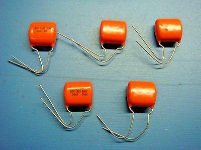 Sprague 225PZ .33MFD 75VDC Orange Drop Capacitors 6-pack
