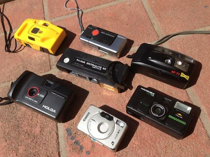 7 x film cameras for $60 the lot