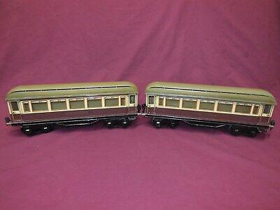 Marklin Rheingold Coaches,2 Car Set,1 Gauge, Beautiful Condition,Original