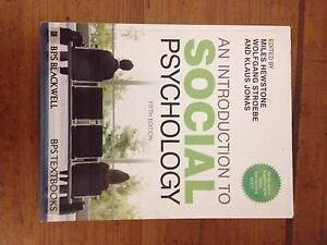 An Introduction to Social Psychology 5th ED Coffs Harbour Coffs Harbour City Preview