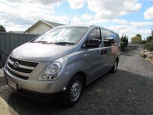 Rare 2011 Hyundai iLoad Crew  Van/Minivan with side windows Cambooya Toowoomba Surrounds Preview