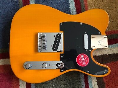 Fender Squier Telecaster BODY Tele Butterscotch! - FULLY LOADED