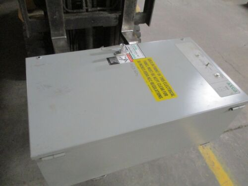 Asco Series 940 Automatic Transfer Switch 94033097C 30A 480Y/277V 60Hz Used