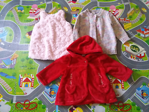 Girls toddler size 1 winter clothes Redbank Plains Ipswich City Preview