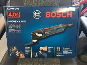 Bosch oscillating tool new in the box