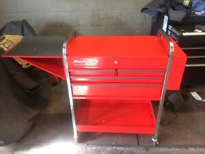 Blue point tool cart