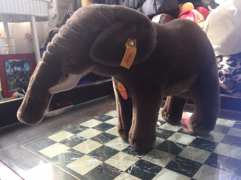 Steiff Yello Elephant