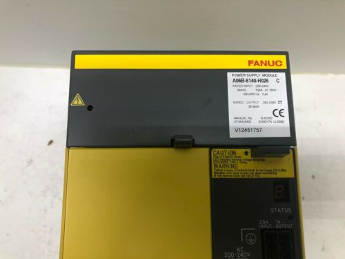 Fanuc Power Supply Module A06b-6140-h026 Exchange Only..fully Refurbished!!!