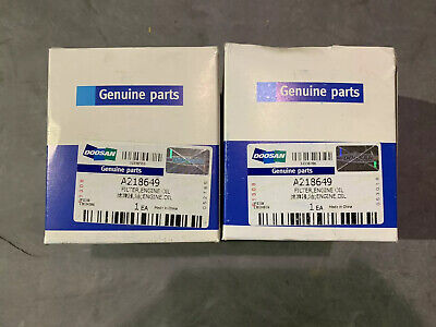 Daewoo Forklift Parts Oil Filter A218649 Lot Of 2
