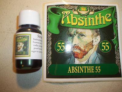 Absinthe Essence Strong Kit w/ 55mg Thujone Per Bottle
