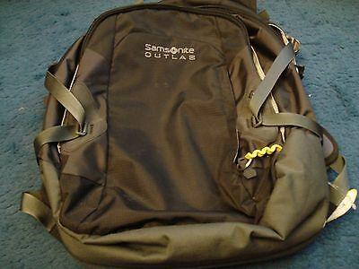 Samsonite Laptop Backpack Jet Black .