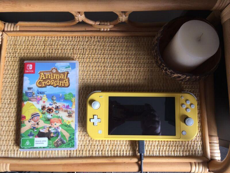 Nintendo Switch Lite Console Animal Crossing Minecraft Skylines Other Video Games Consoles Gumtree Australia The Hills District Baulkham Hills 1256508619