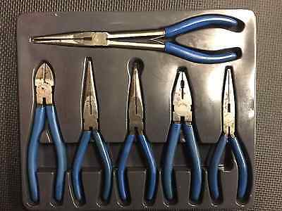 Blue-point pliers snips 6 pcs set