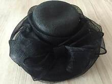 *** Black Race Day Hat *** Speers Point Lake Macquarie Area Preview