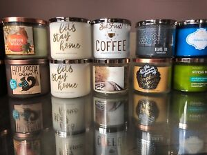 New bath and body works candles