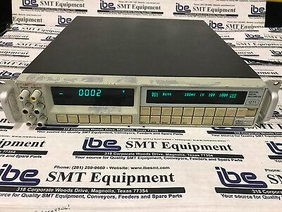 Datron Wavetek 1271 Selfcal Digital Multimeter Woptions 12 80 90 Wwarranty
