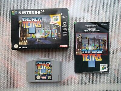 Jeu Nintendo 64 / N64 Game The New tetris Complet PAL Fah CIB *