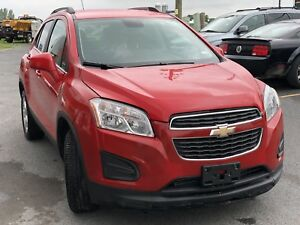 2015 CHEVY TRAX SAFETY INCLUDED $9500 CALL 613-445-3555