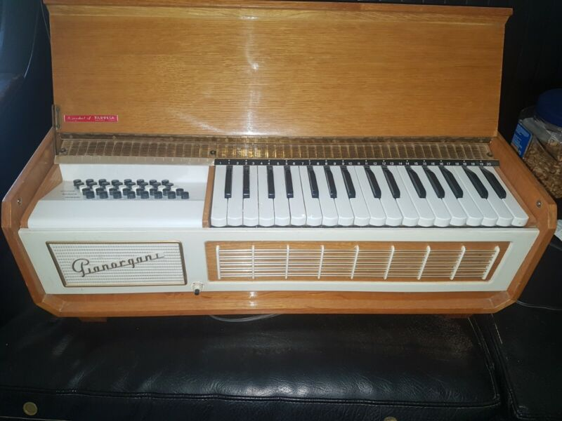 Vintage Farfisa Pianorgan 1 Organ Piano