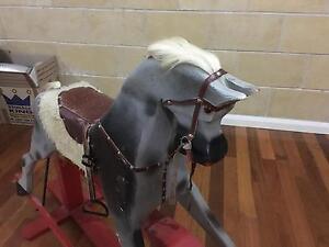 Antique Children's Rocking Horse Plenty Nillumbik Area Preview